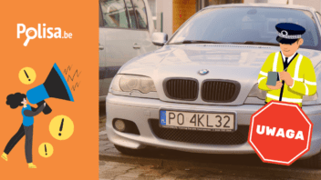 Polowanie na polskie tablice rejestracyjne w Belgii