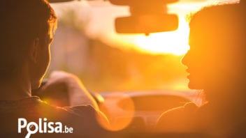 Jazda samochodem pod słońce